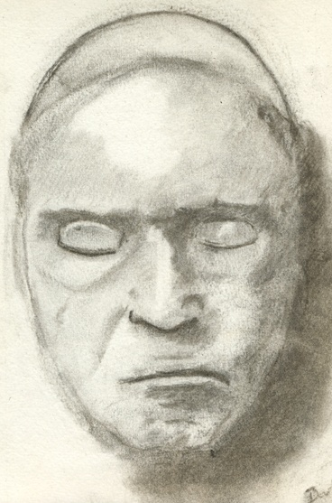 Portrait de Beethoven au fusain Beetho10