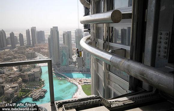 برج دبي العالمي (التاريخي) Cleani10