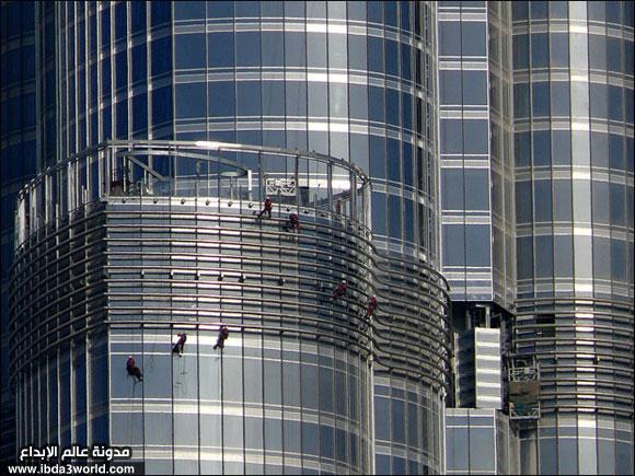 برج دبي العالمي (التاريخي) Cleani11