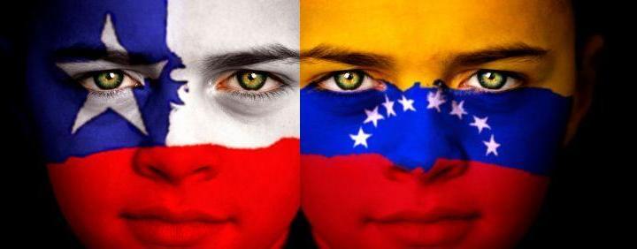 Venezolanos en [Chile]