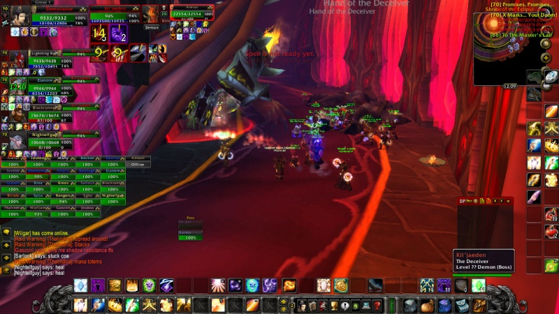 Warlords try defeat KJ on 13th of February Wowscr14