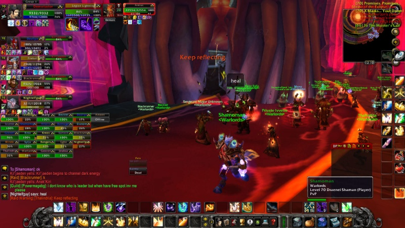 Warlords try defeat KJ on 13th of February Wowscr15