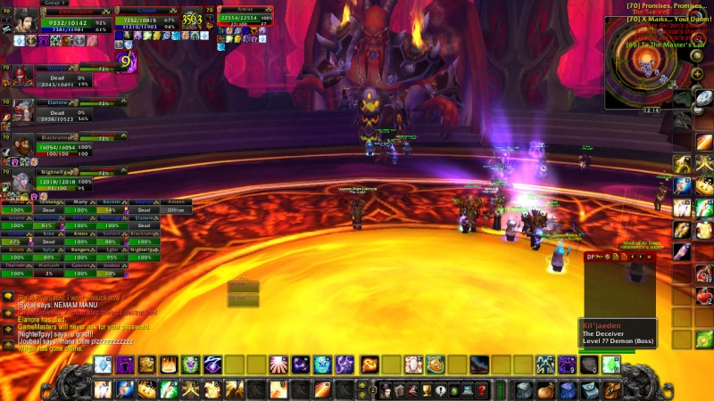 Warlords try defeat KJ on 13th of February Wowscr17