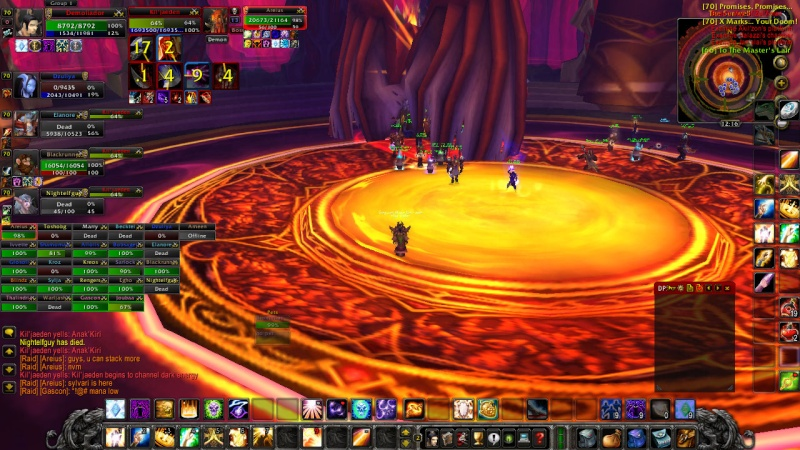 Warlords try defeat KJ on 13th of February Wowscr18