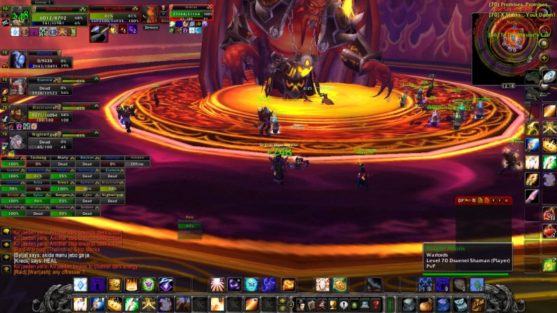 Warlords try defeat KJ on 13th of February Wowscr19