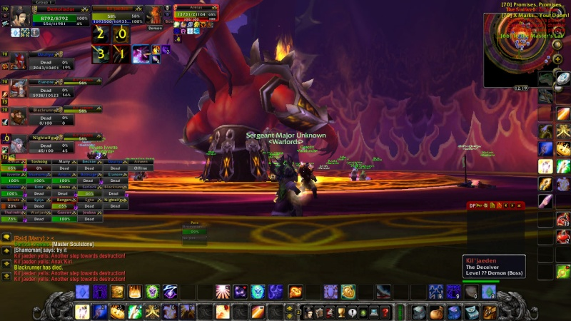 Warlords try defeat KJ on 13th of February Wowscr21