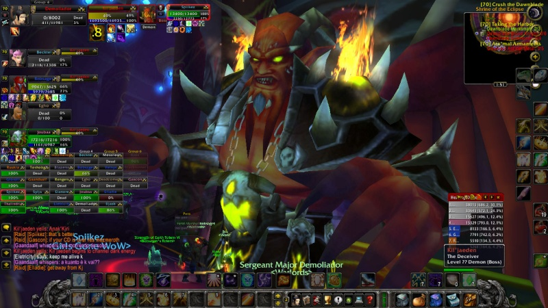Warlords try defeat KJ on 13th of February Wowscr24