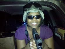 My girl was busted playin in my gear! 7_10