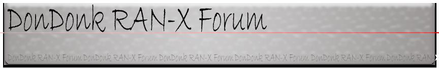 DonDonk RAN-X