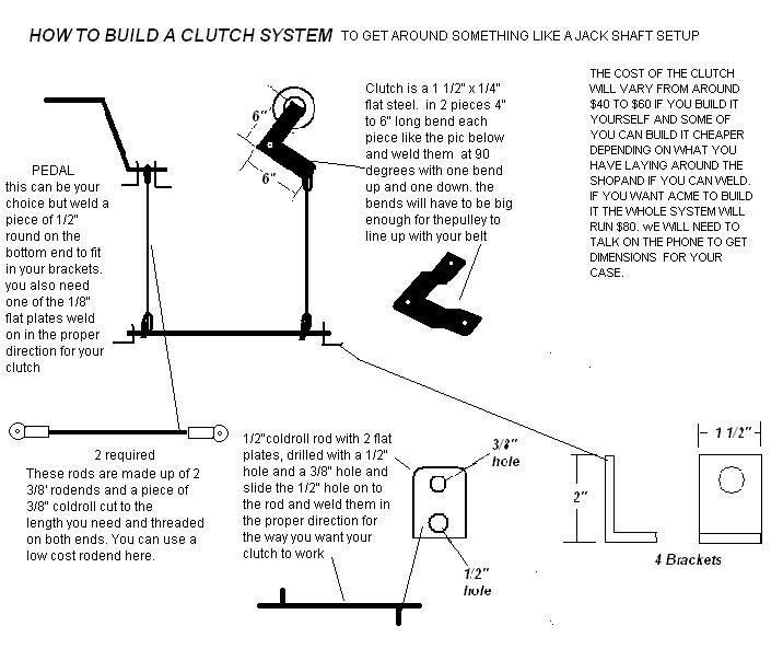 Al-Ko Mudding Tractor Build - Page 3 Clutch10