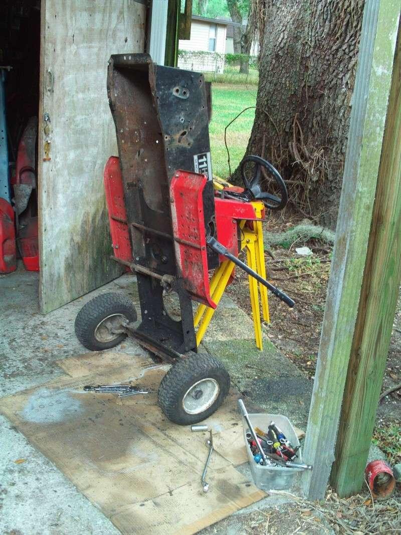 MTD Wizard 'go kart' build Stripp10
