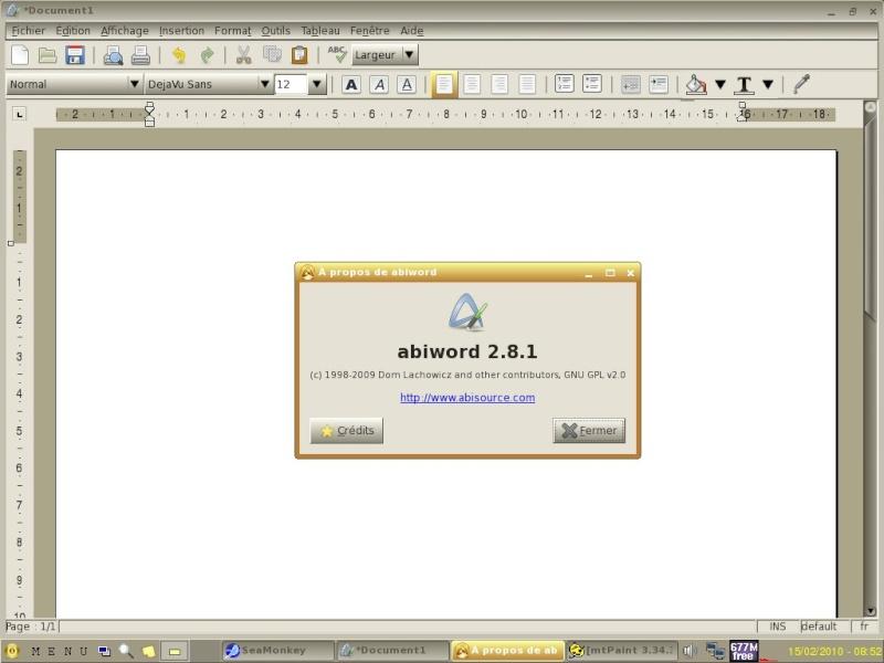 ToutouLinux 4.31 Im310