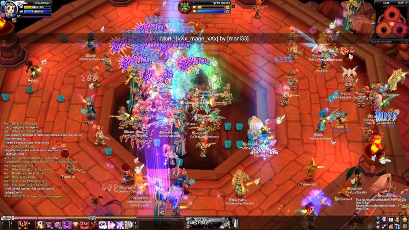 Screens d'un event nocturne en arene =D 20100612