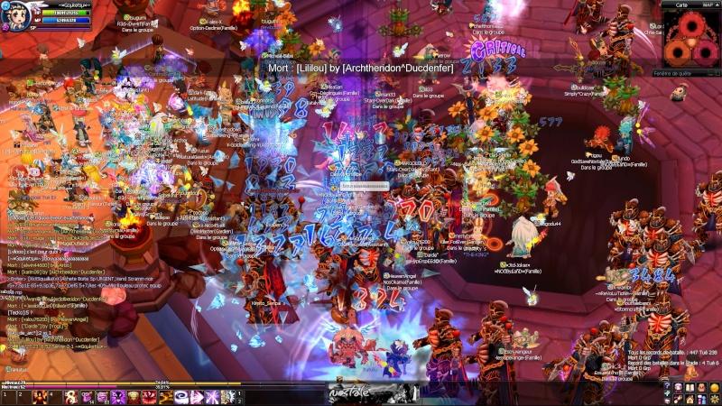 Screens d'un event nocturne en arene =D 20100617