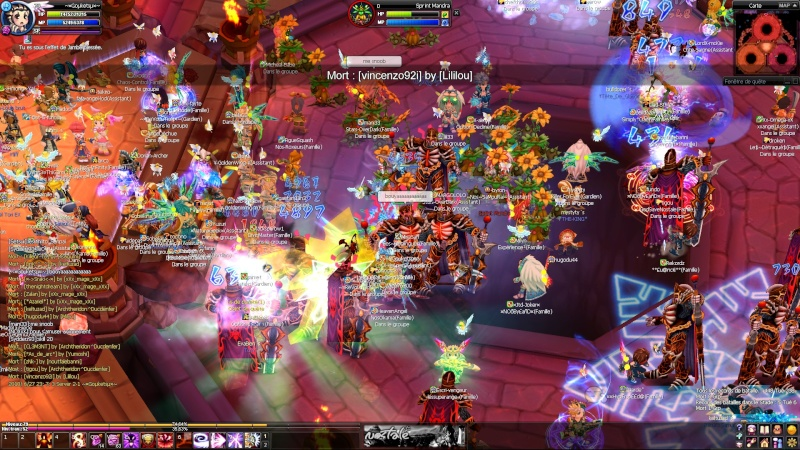 Screens d'un event nocturne en arene =D 20100618