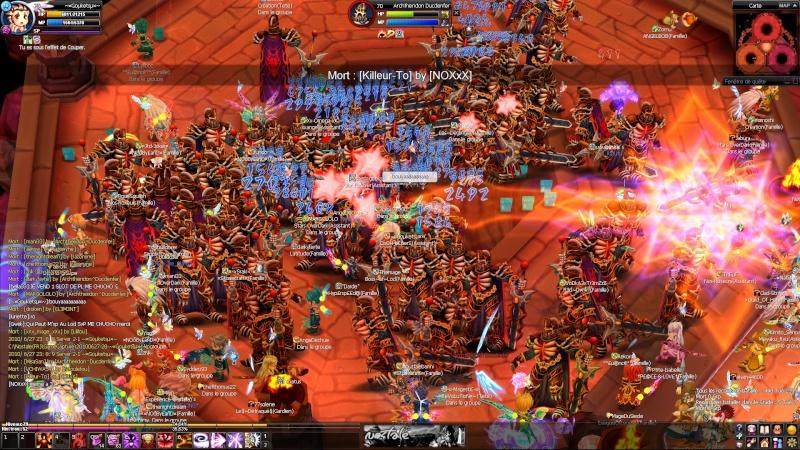 Screens d'un event nocturne en arene =D 20100619