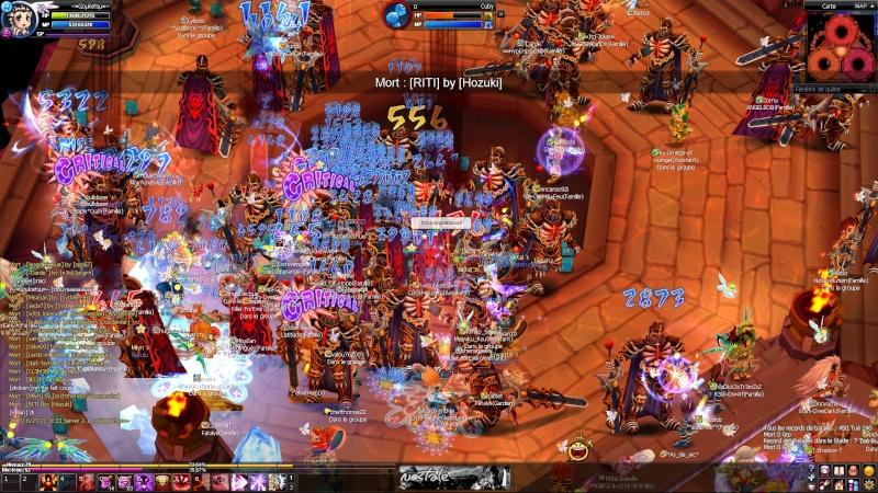 Screens d'un event nocturne en arene =D 20100620