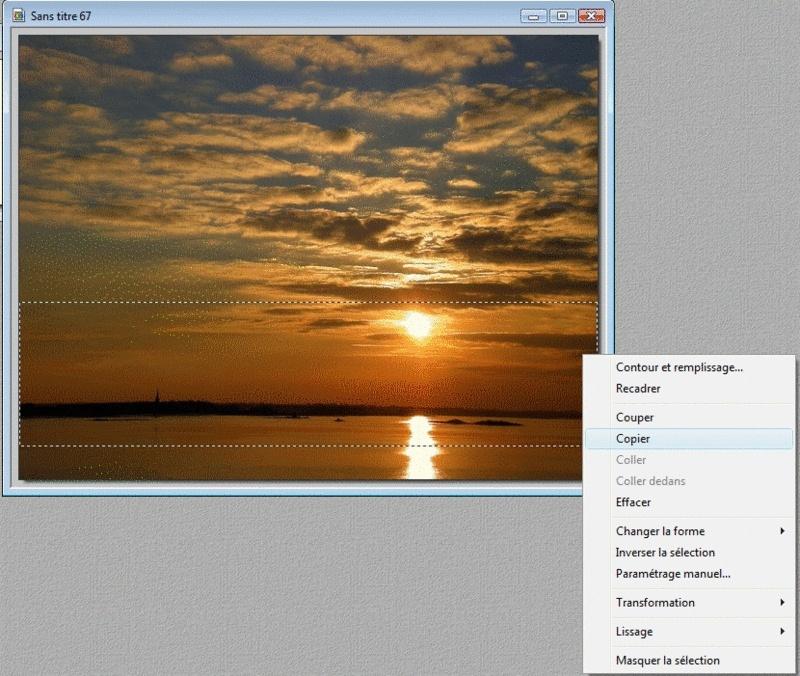 Tutoriel création bannière pour les nuls avec photofiltre. 110