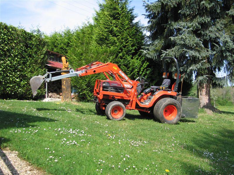 Réalisation d'un accessoire pour tracteur. 25_avr17