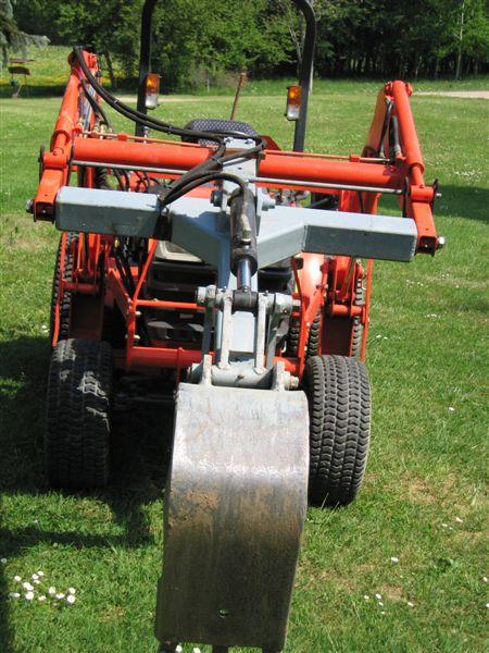 Réalisation d'un accessoire pour tracteur. 25_avr20