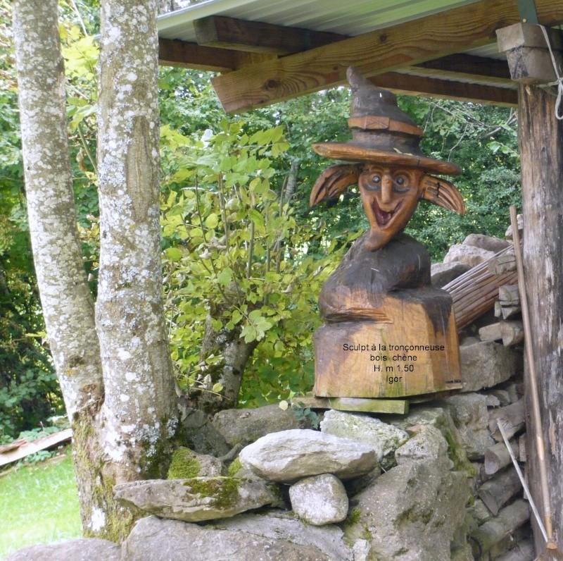 Une des mes sculptures à la tronçonneuse 30_sep10