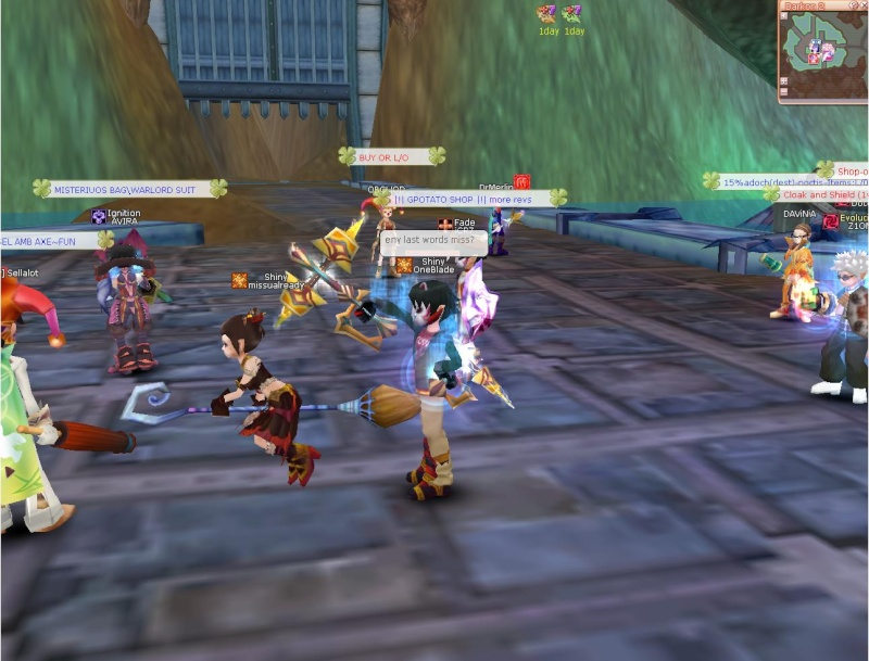 Hunting guildies all day (: here what i found Guild_12