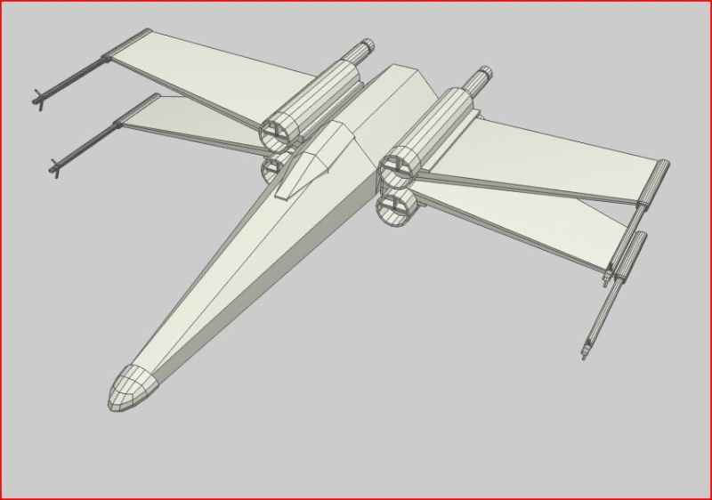 Des screens de mes premières réa X-wing11