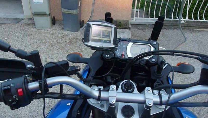 Ma XTZ1200 at home :) P1100915