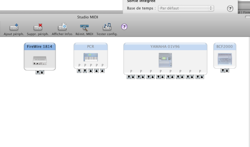 pb config 01v96 vcm avec Studio manager Osx ? Midi210