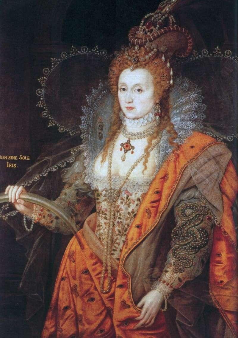 la reine d'angleterre et les reptiliens Elizab10
