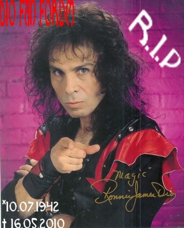 Ronnie James Dio Forum