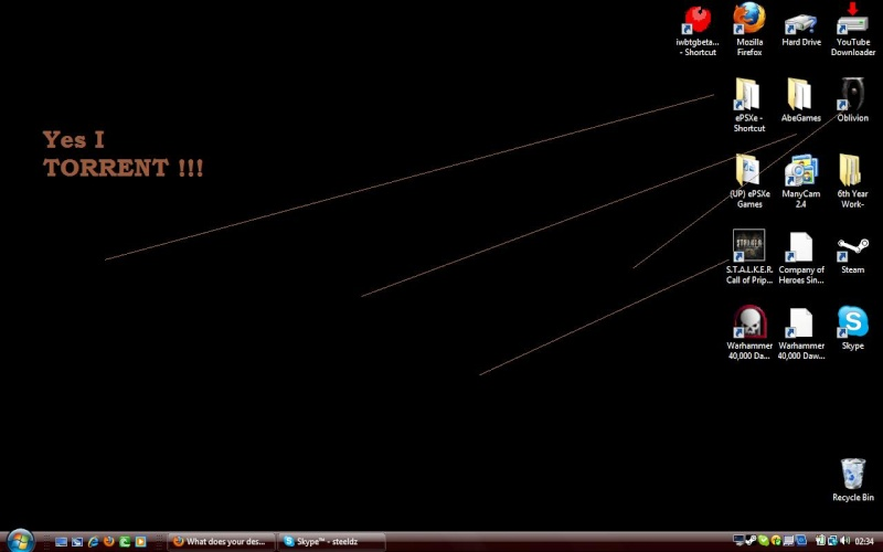 What does your desktop look like? I_torr10
