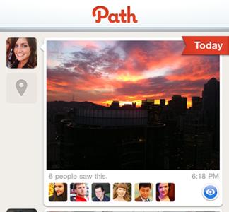 Rede social Path limita lista de amigos a 50 contactos Path-810