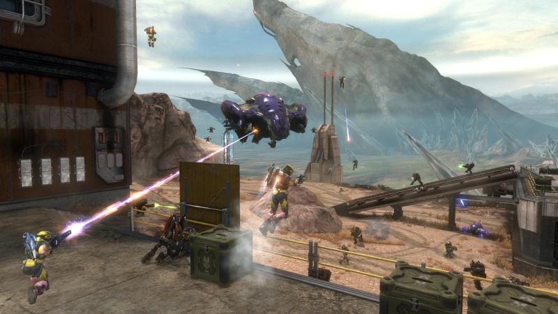 """O novo trailer dos bastidores de """"Halo: Reach"""" assinala a chegada eminente de três novas frentes de batalha  para o melhor jogo de 2010  Uneart10"""