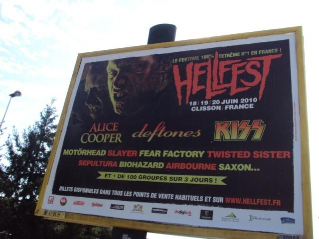 Le Hellfest 20 juin 2010 à Clisson.. Dsc00810