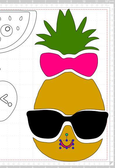 mon nouveau jouet le Ploter de découpe  - Page 2 Ananas10