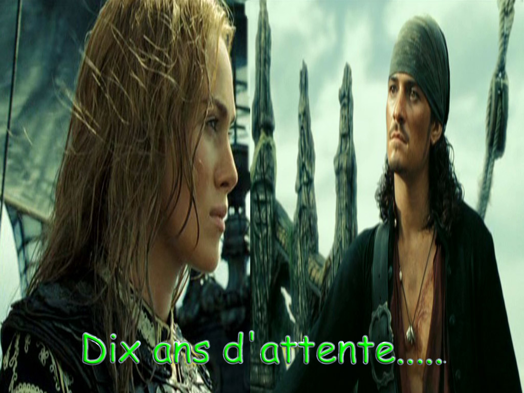 Pirates des Caraïbes - Will et Elisabeth - rating G Attent10