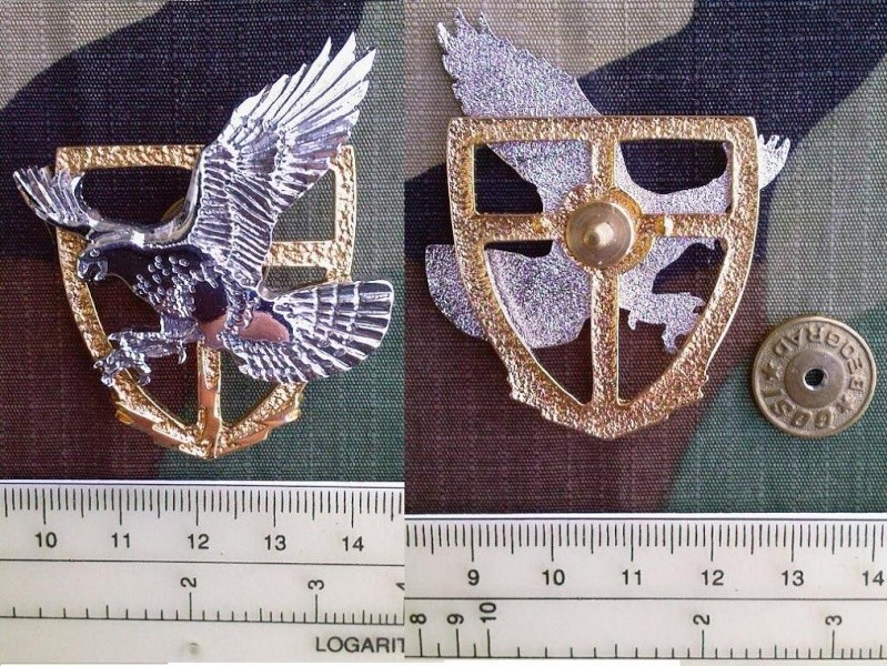 Army of Serbia hat badges 72sf10