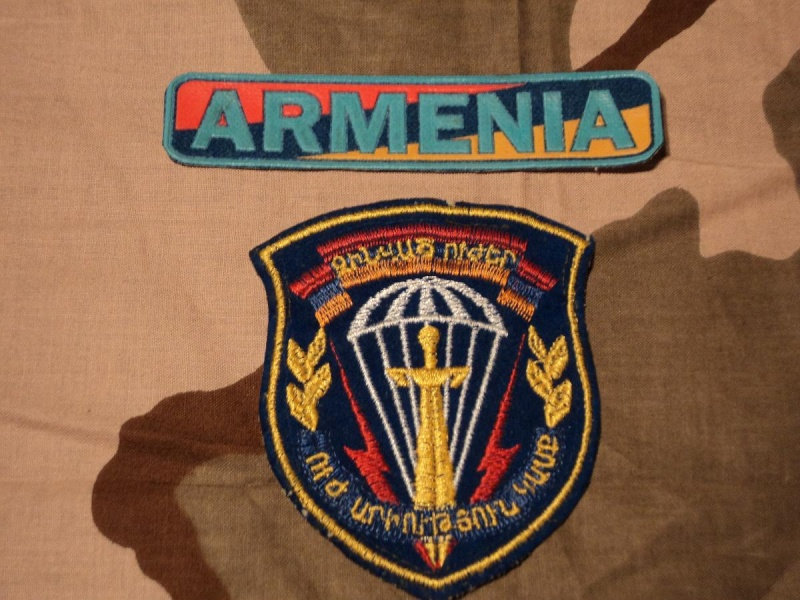 army/ SF patches Armeni11