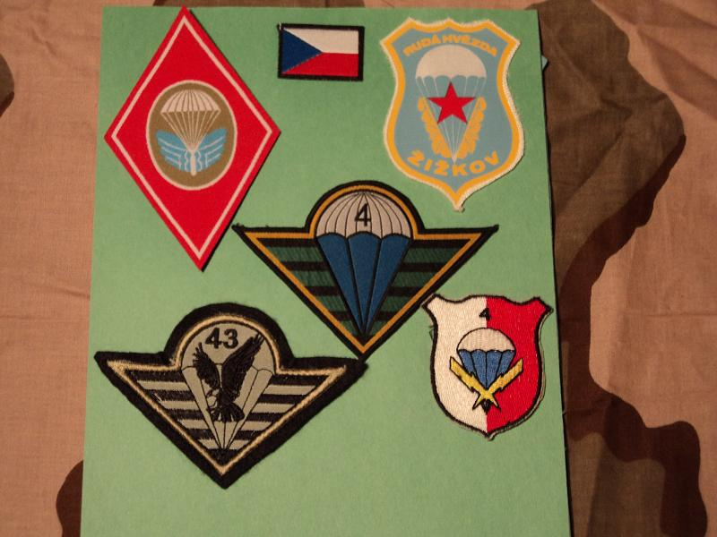 Patches, insignias Czech_10