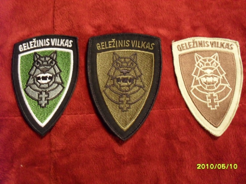 Lithuania military( Lietuvos kariuomene) badges,insignias,beret/hat badges,patches Gv10