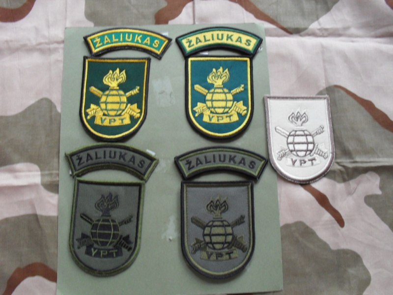 Lithuania military( Lietuvos kariuomene) badges,insignias,beret/hat badges,patches Lk_ypt11