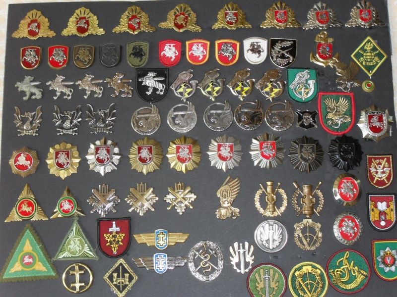 Lithuania military( Lietuvos kariuomene) badges,insignias,beret/hat badges,patches Lt_kok10