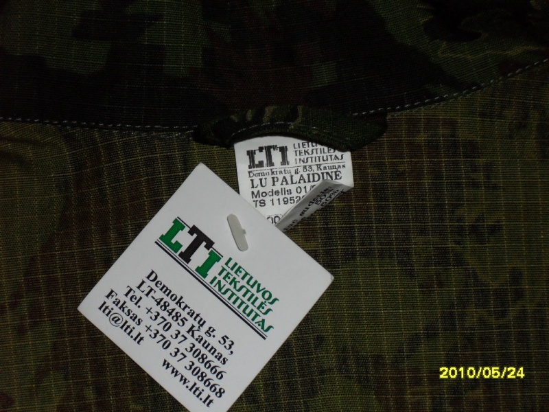 LT woodland uniform Sdc11710