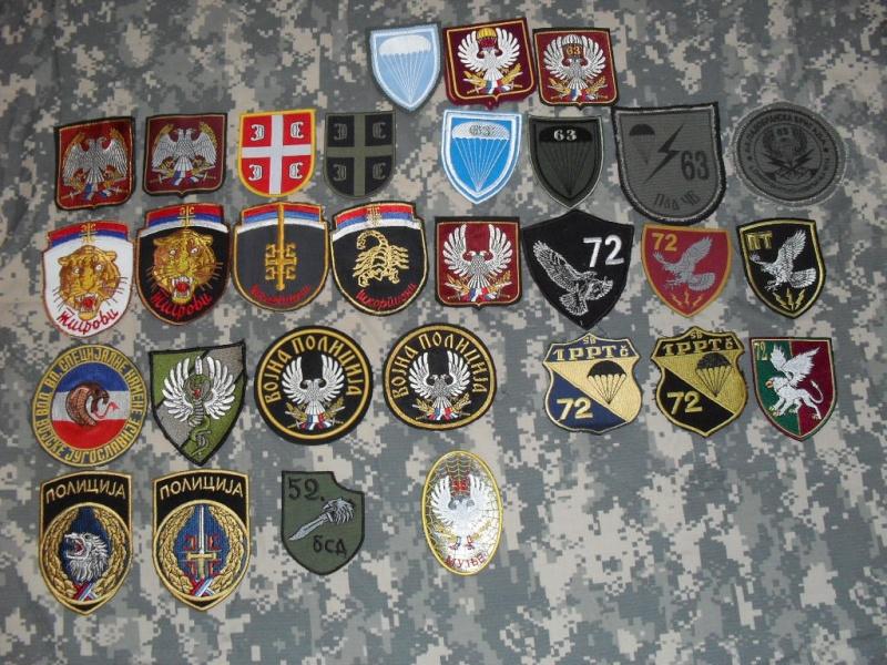 Vojska Jugoslavia patches Serbij10