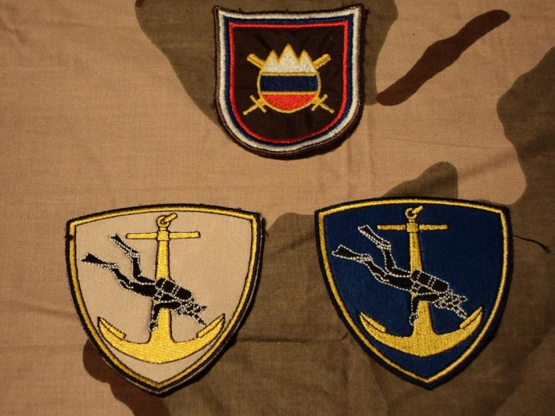 Few Slovenian armed forces insignias Sloven10