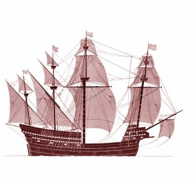 sabordi e mantelletti (a losanga)...tipologie e alberatura dei vascelli dei primi del XVII sec...e molto altro Englis10