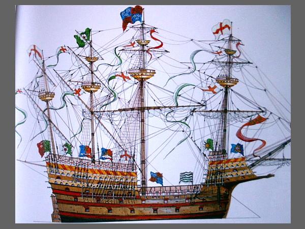 sabordi e mantelletti (a losanga)...tipologie e alberatura dei vascelli dei primi del XVII sec...e molto altro Henry_10