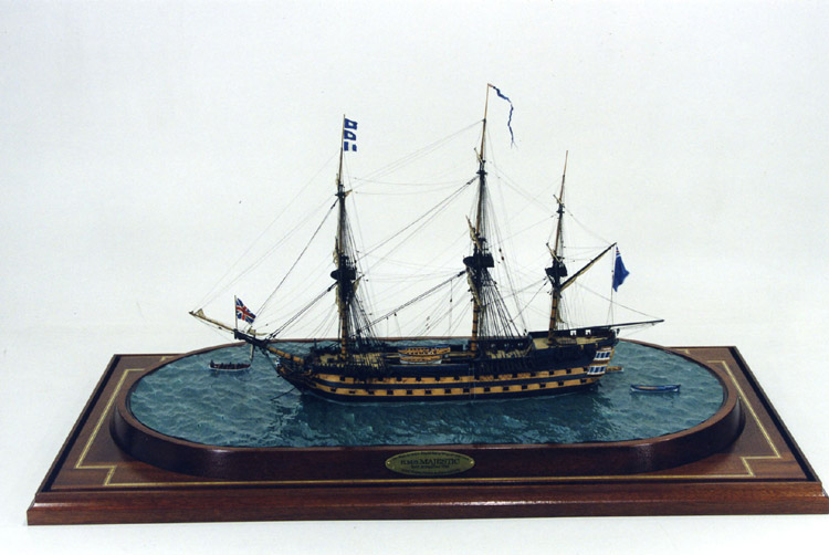 HMS Bellona 74 cannoni inglese da 168 ft. - Pagina 5 Majest10