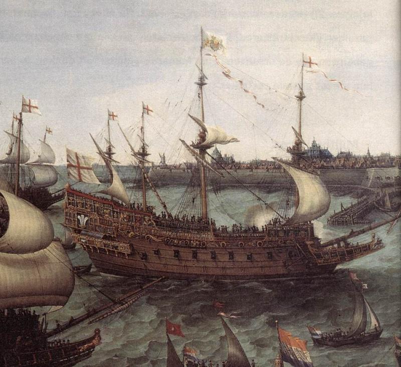 sabordi e mantelletti (a losanga)...tipologie e alberatura dei vascelli dei primi del XVII sec...e molto altro The_ar11